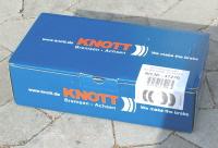 Knott 250 mm bremsesæt til 1 aksel